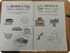 The Night Before Mother's Day and More Mother's Day Activities