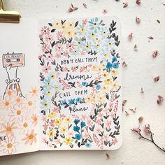𝐄𝐥𝐚𝐢𝐧𝐞 (@leeniale) • Instagram photos and videos Bullet Journal Quotes, Bullet Journal Inspo, Bullet Journals, Art Journals, Bujo, Journal Organization, Korean Stationery, Journal Inspiration, Journal Ideas