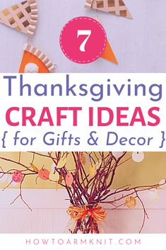 Check Out These Thanksgiving Projects For Christian Ideas That You , schauen sie sich diese thanksgiving-projekte für christliche ideen, die sie , , For Grandparents thanksgiving crafts Thanksgiving Crafts For Kids, Thanksgiving Decorations, Easter Crafts, Christmas Crafts, Craft Projects For Kids, Crafts For Kids To Make, Kids Crafts, Homemade Home Decor, July Crafts