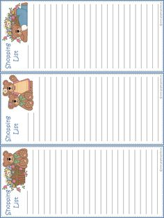 To Do Lists Printable, Printable Paper, Free Printables, Crafts With Pictures, Colorful Pictures, Journal Paper, Journal Cards, Planners, Family Planner