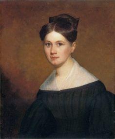 19C American Women: Phoebe Cassidy Freeman, 1830.