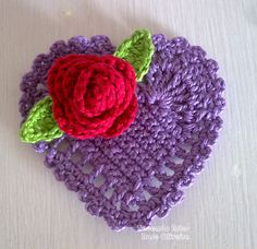 Weaving Arts in Crochet: Crochet Hearts