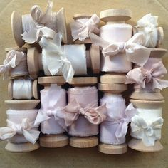 Stunning Hand-Dyed Ribbon for Your Bridal Bouquet