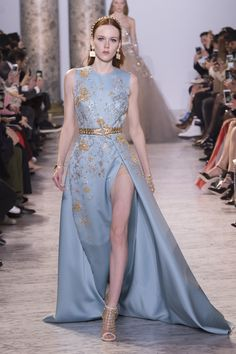 All the Looks from the Elie Saab Spring-Summer Couture 2017 Collection