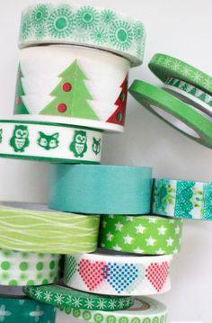Washi tape navideños | Visioninteriorista.com
