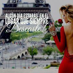 La vida tarde o temprano te permitirá hacer cada sueño realidad!!!  -WV-  #exitoentacones #viaje #lifestyle #estumomento