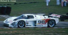 RSC Photo Gallery - Sebring 12 Hours 1989 - Toyota 88C no.98 - Racing Sports Cars