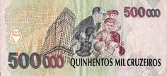 500 CRUZEIROS REAIS 1993.... I love baknotes... And i want to collect them...