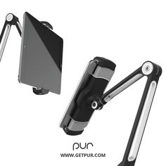 "PUR Tablet/Phone Stand fits 4""-11"" Smart Phones and Tablets. #tablet #stand"