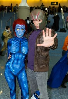 40 Best Mystique X men Cosplay Ideas                                                                                                                                                     More