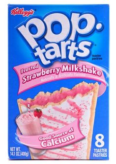 Strawberry milkshake poptarts