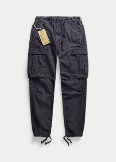 Canvas Surplus Cargo Trouser Jumpsuit Dress, Men Dress, Ralph Lauren Uk, Cargo Pants, Jumpsuits For Women, Casual Shirts For Men, Black Jeans, Trousers, Sweatshirt