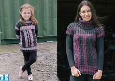 Pullovers Brand: Elle Count: Double Knit Yarn: Liniya Size From: 61 cm Size To: 107 cm Sweater Knitting Patterns, Knitting Yarn, Double Knitting, Baby Patterns, Baby Kids, Pullover, Lady, Children, Count