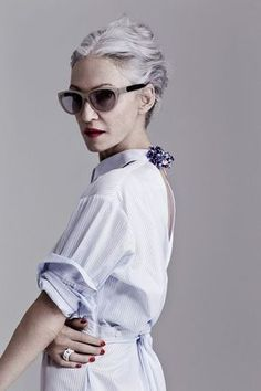 Moda para mujeres de 60 años #60years #women #style