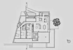 Fachada y planos de una casa moderna frente al mar   Construye Hogar