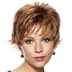 Wispy Hairstyles for Layered Hair | Wispy, layered waves. #hair #paulayoung #wig | Hairstyle