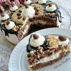 Kuru fasulyeli yaş pasta
