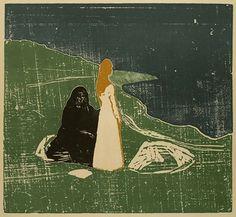 Estampe d'Edvard Munch