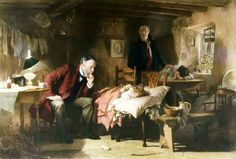 The Doctor - (Samuel) Luke Fildes (1844-1927).