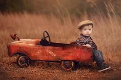 Child Photography, Photography-General, Portrait PhotographyDecember 26, 2015 vintage car By Jackie Jean
