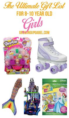 Need a gift for an 8-10 year old girl? Look no further! This list has the top gifts for girls that your favorite girl will love!