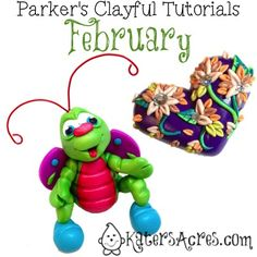 Parker's Clayful Tutorial Club – February 2014 Review | See what you missed, purchase tutorials, or JOIN the club!