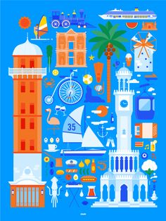 Illustrations for the Turkey Ministry of Culture and Tourism | Tamer Koseli