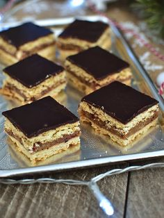 Pradobroty: Zázrak Sweet Cooking, Croissants, Just Desserts, Tiramisu, Food And Drink, Cooking Recipes, Meals, Drinks, Ethnic Recipes