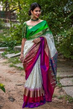 how to wear fashion jewellery with sarees