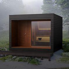 Diy Sauna, Design Hotel, House Design, Design Design, Small Pools, Small Backyard Pools, Pool Decks, Modern Saunas, Sauna House