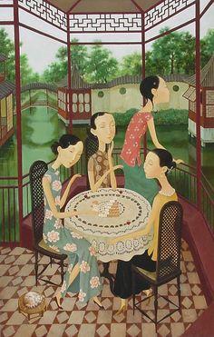 Shuai Mei http://cuadernoderetazos.wordpress.com/pintura/shuai-mei/