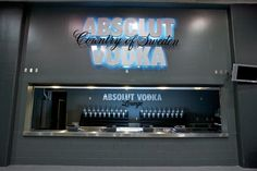 Absolut Lounge by LAB787 , via Behance