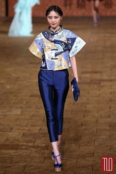 China Fashion Week Spring 2015: Zhang Zhifeng