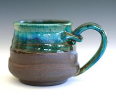 absolutely beautiful handle treatment by etsy seller ocpottery, Handmade Ceramics by Kazem Arshi