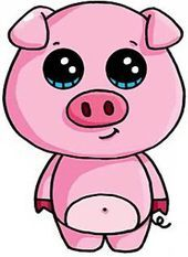 The best pig from caratie and the mimis 365 Kawaii, Kawaii Pig, Arte Do Kawaii, Kawaii Girl Drawings, Disney Drawings, Cartoon Drawings, Cute Easy Drawings, Cute Animal Drawings, Pictures To Draw