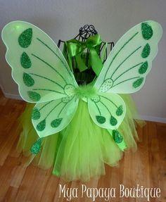Tinkerbell Inspired Tutu Dress Costume
