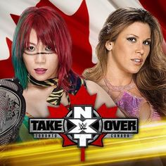 Breaking News: @MickieJames will take on @WWEAsuka for the #NXTWomensChampionship at #NXTTakever:Toronto!