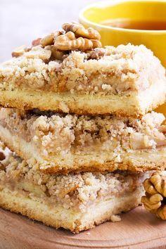 Weight Watchers Caramel Apple Crisp Bars Recipe - 6 Smart Points