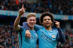Manchester City put pressure on Liverpool in fight for third spot