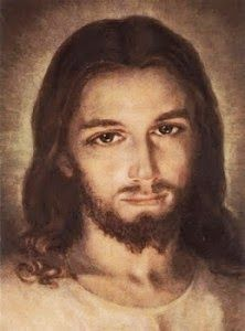 Artist (painting) rendition of our Lord and Savior Jesus Christ! Jesus Prayer, God Jesus, Jesus Face, Catholic Art, Religious Art, Brothers Of Jesus, Mary In The Bible, Image Jesus, St Faustina