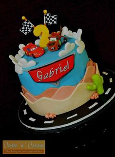 McQueen and Mater cake