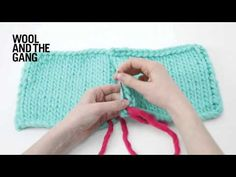 Vertical invisible seaming - YouTube