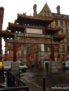 Manchester, England China Town