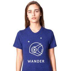 Astronaut Shirt Women's Indigo, $27, now featured on Fab.