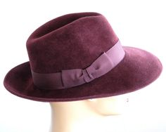f9c4f21ac2c Wide Brimmed Fedora Hat by KatarinaHats Fedora Hat Women