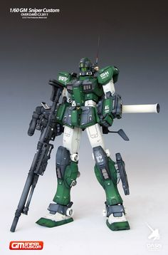 GUNDAM GUY: 1/60 GM Sniper Custom Over Dard C3 2011 - Painted Build