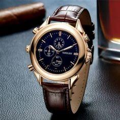 Armbanduhr-Spionagerecorder als verdecktes Abhörgerät