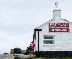 First & Last Refreshment House - Lands End, Cornwall, England, UK