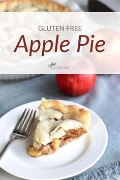 Cathy's Gluten Free Apple Pie recipe puts an easy healthy filling into the best gluten free pie crust! Learn how to make this fabulous dairy free dessert that no one knows is gluten free until you tell them! Gluten Free Apple Pie, Best Gluten Free Desserts, Gluten Free Grains, Gluten Free Recipes For Dinner, Dairy Free Recipes, Dinner Recipes, Dessert Recipes, Recipe Maker, Apple Pie Recipes