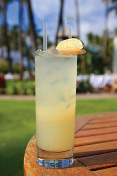 Mauna Lani Mule at the Fairmont Orchid - one of the best drinks EVER!